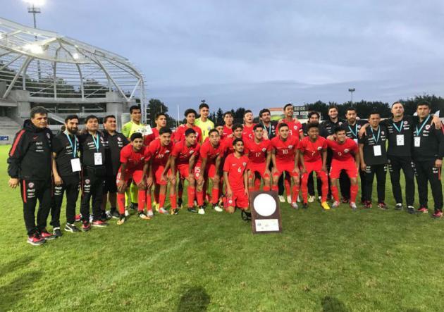 Chile Sub 17 se coronó campeón en Francia — Toma confianza