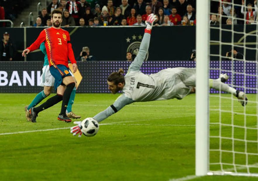 Alemania_España_DeGea_amistoso_2018_Getty