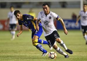 Delfin_ColoColo_Paredes_Libertadores_2018_Getty