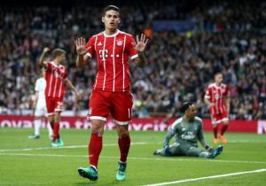 RealMadrid_Bayern_Semis_Champions_James_Gol_Getty