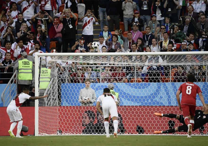 Perú_Dinamarca_Cueva_penal_Mundial_Rusia_2018_Getty