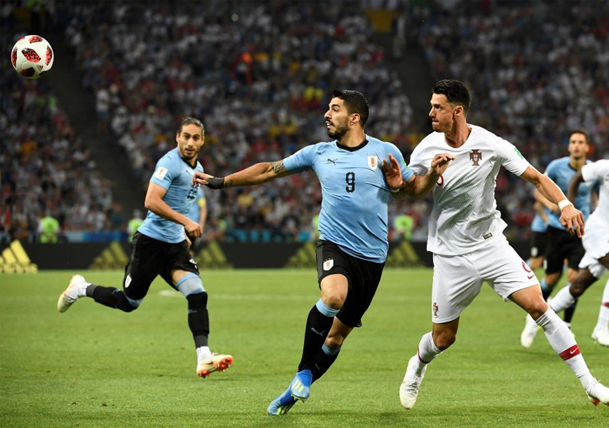 Uruguay_Portugal_Suárez_Fonte_Mundial_Rusia_2018_Getty