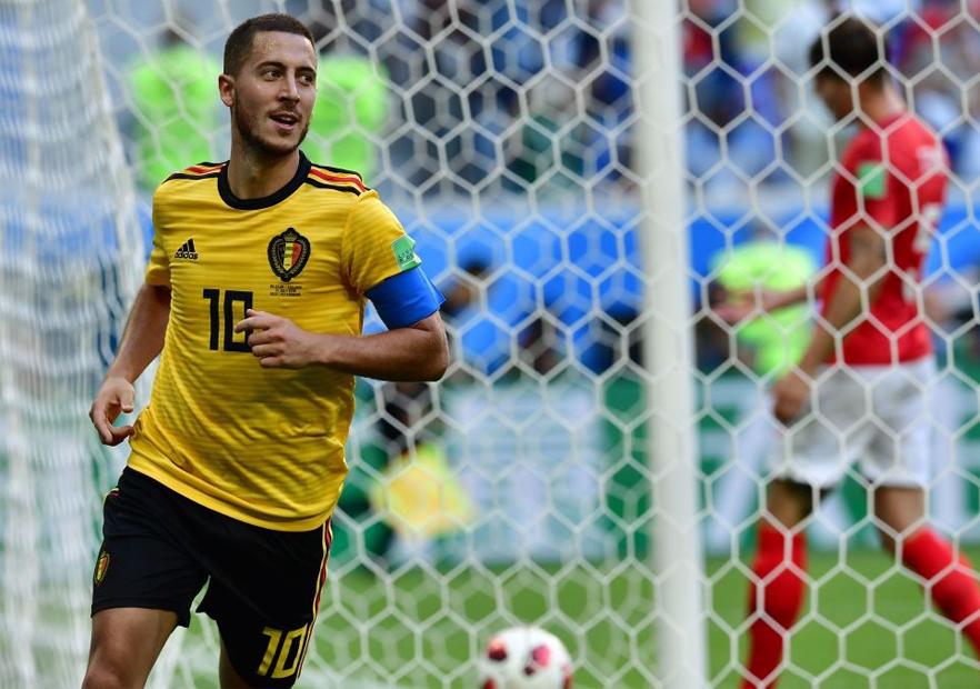 Bélgica_Hazard_celebra_Inglaterra_Mundial_Rusia_2018_Getty