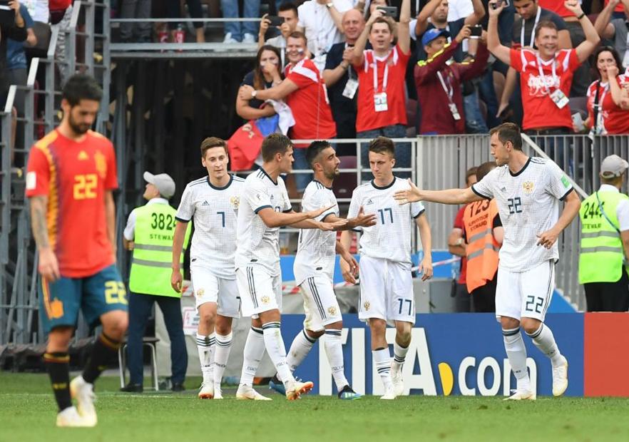 España_Rusia_celebra_Mundial_Rusia_2018_Getty
