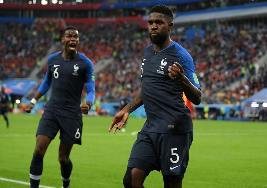 Francia_Bélgica_Umtiti_celebra_Mundial_Rusia_2018_Getty_2