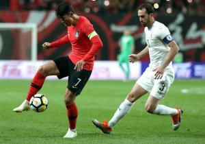 Godin_Uruguay_CoreaDelSur_amistoso_2018_getty