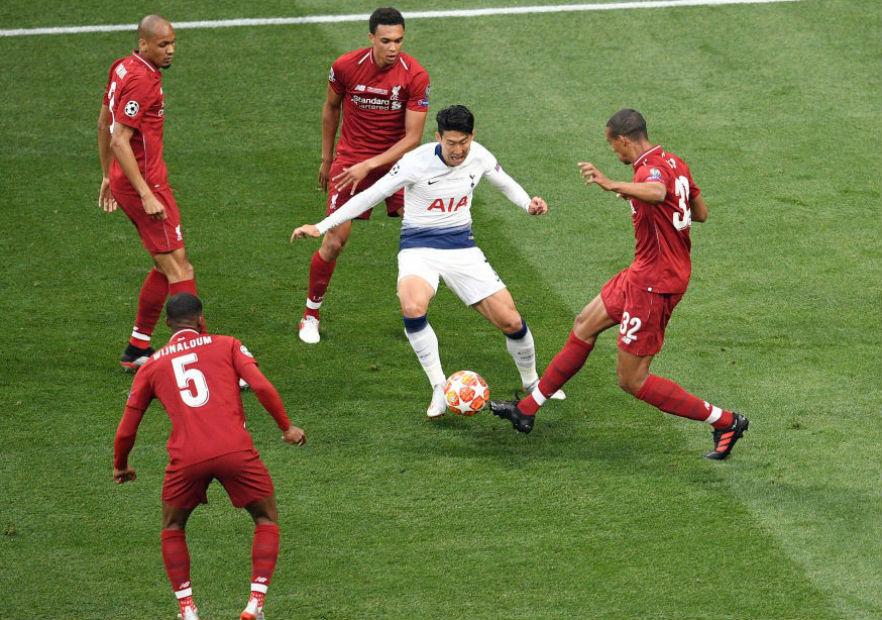 Son_Liverpool_Tottenham_final_Champions_2019_getty