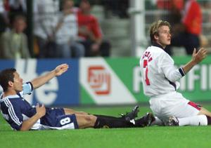 Beckham_Simeone_Mundial_Francia_1998_Getty