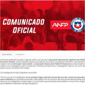 Comunicado_ANFP_Jose-Letelier_2019