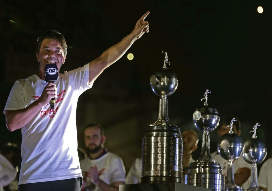 MarceloGallardo-LIBERTADORES-RIVER-CHAMPION-CELEBRATION-getty