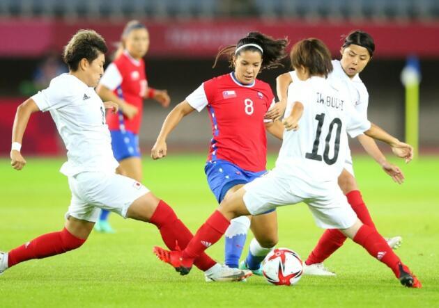 Araya Chile Japon LaRojaFemenina Tokio2020 julio 2021 | Últimas Noticias Futbol Mundial
