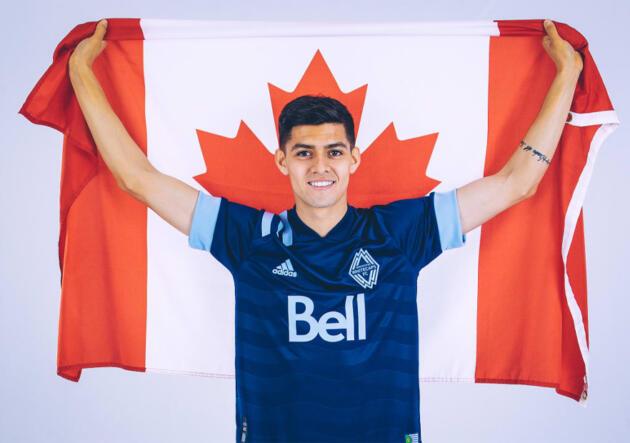 Cristián Gutiérrez fue nominado para jugar la Copa Oro con Canadá